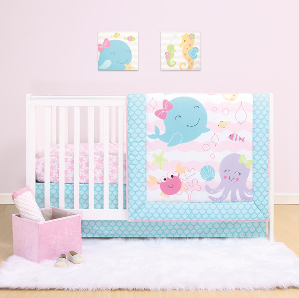 baby-girl-bedding-set-sealife-pink
