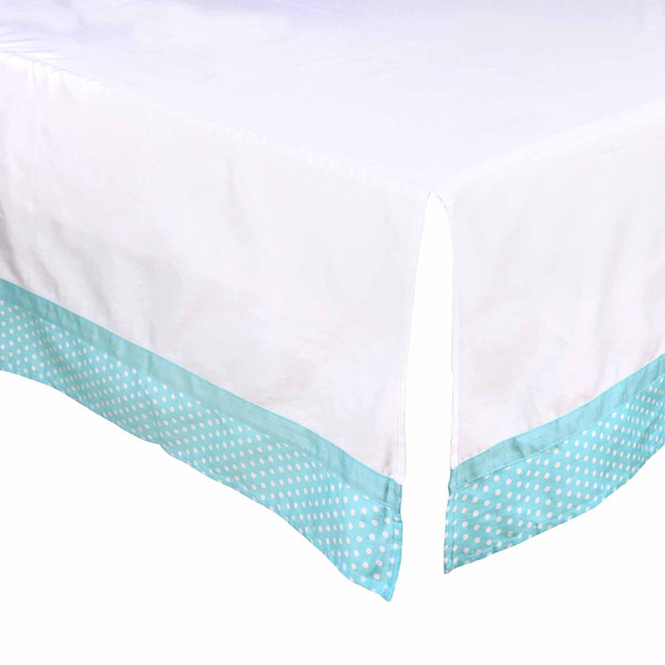 Changing Sheets On Bed Against Wall Dust Ruffle