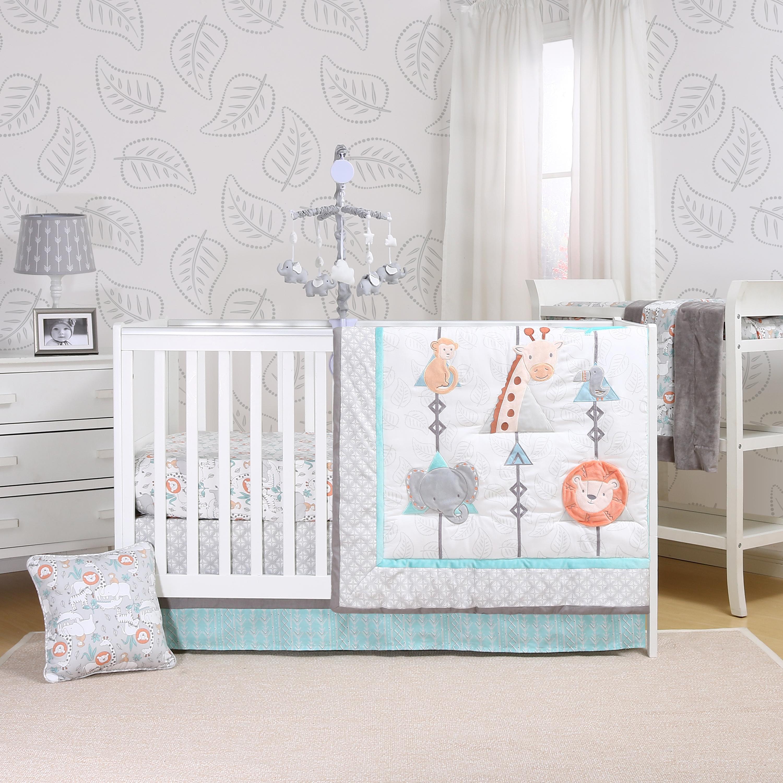 d4ef9512d1039 Safari Adventure Crib Bedding Set