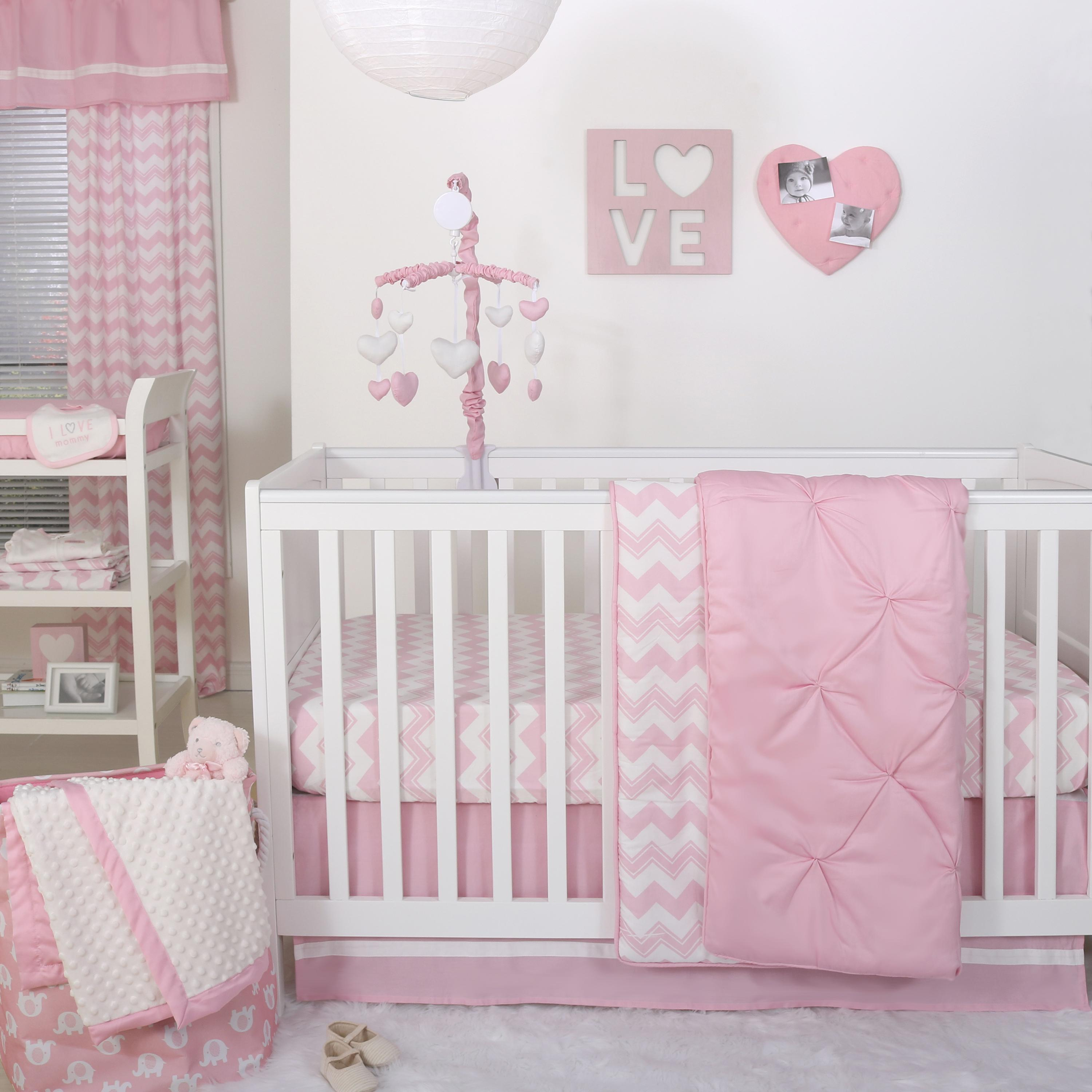 crib tiered skirt dust solid inch bedding length ruffle pink designs carousel for three ruffles skirts tier cribs large