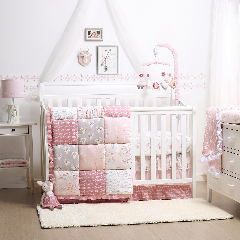 Woodland Whimsy Crib Bedding Set