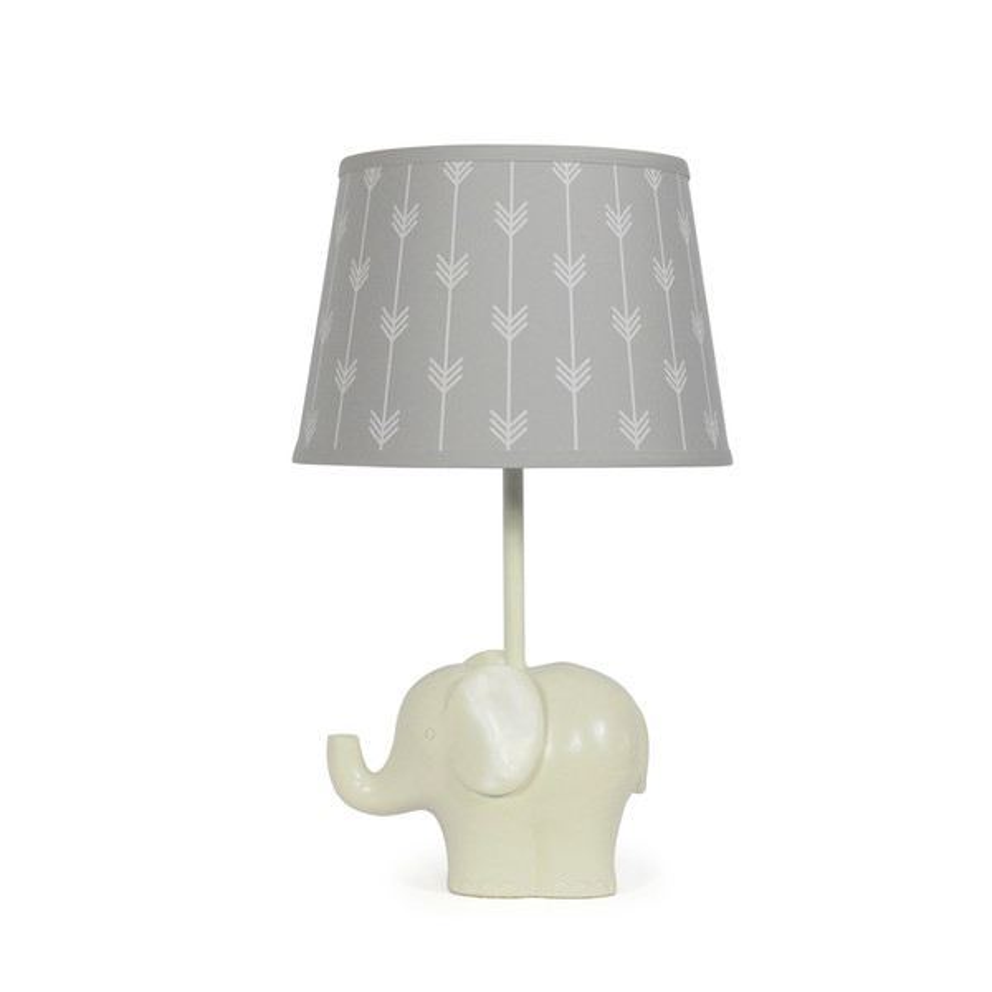 Elephant Grey Arrows Lamp