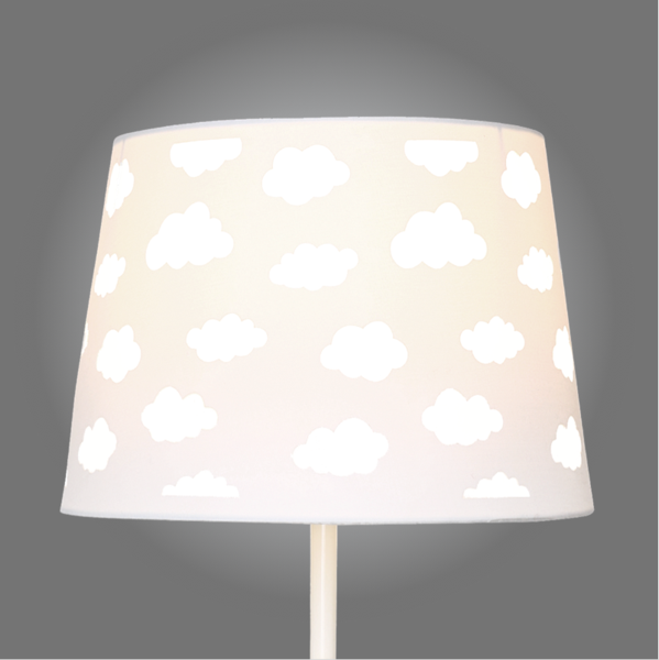 White cloud cut out lamp shade mozeypictures Images