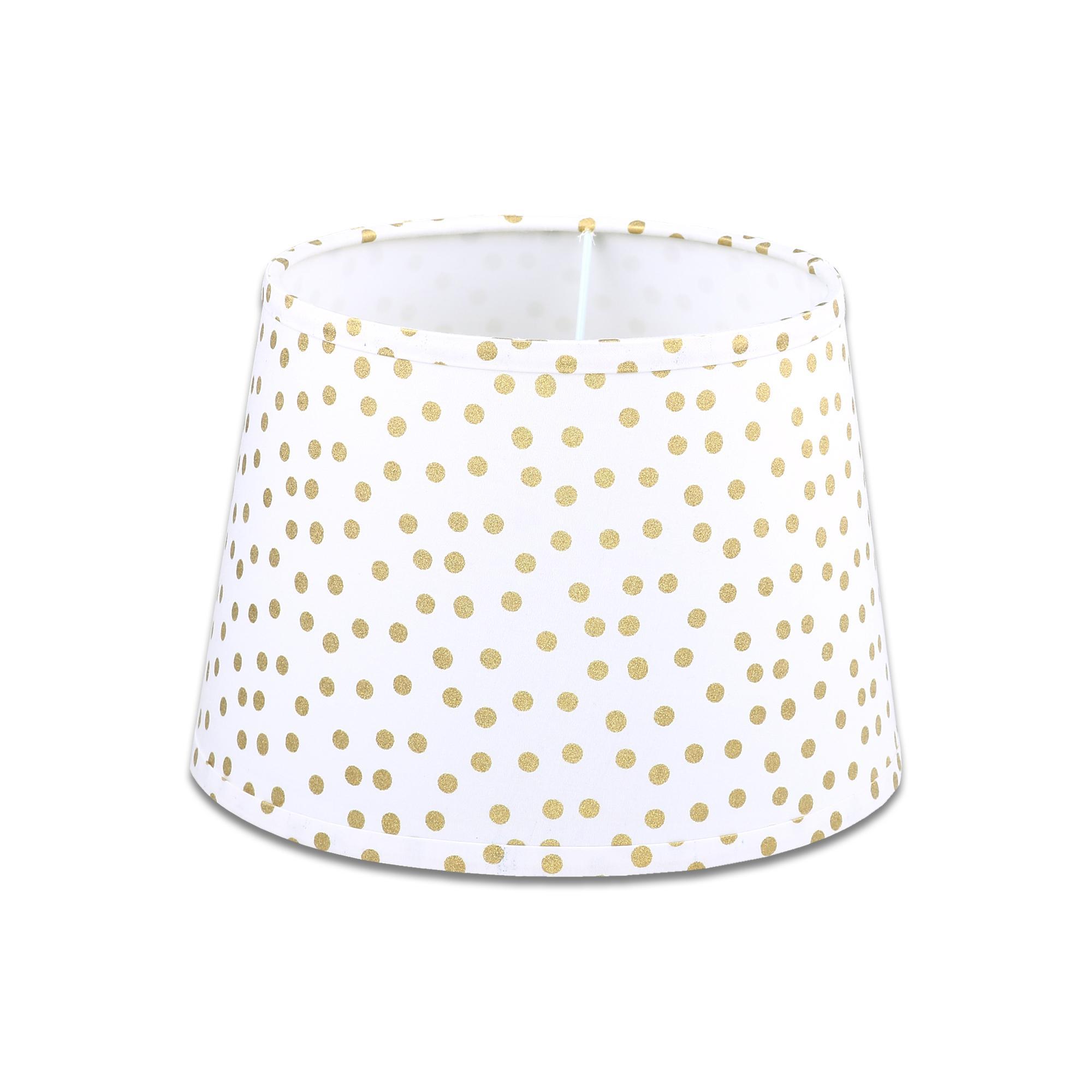 Gold Dot Lamp Shade