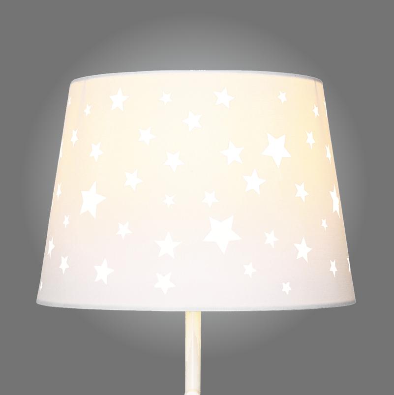 Star cut out lamp shade aloadofball Choice Image
