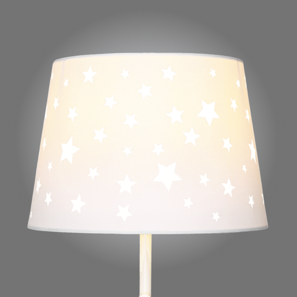 Star Cut Out Lamp Shade