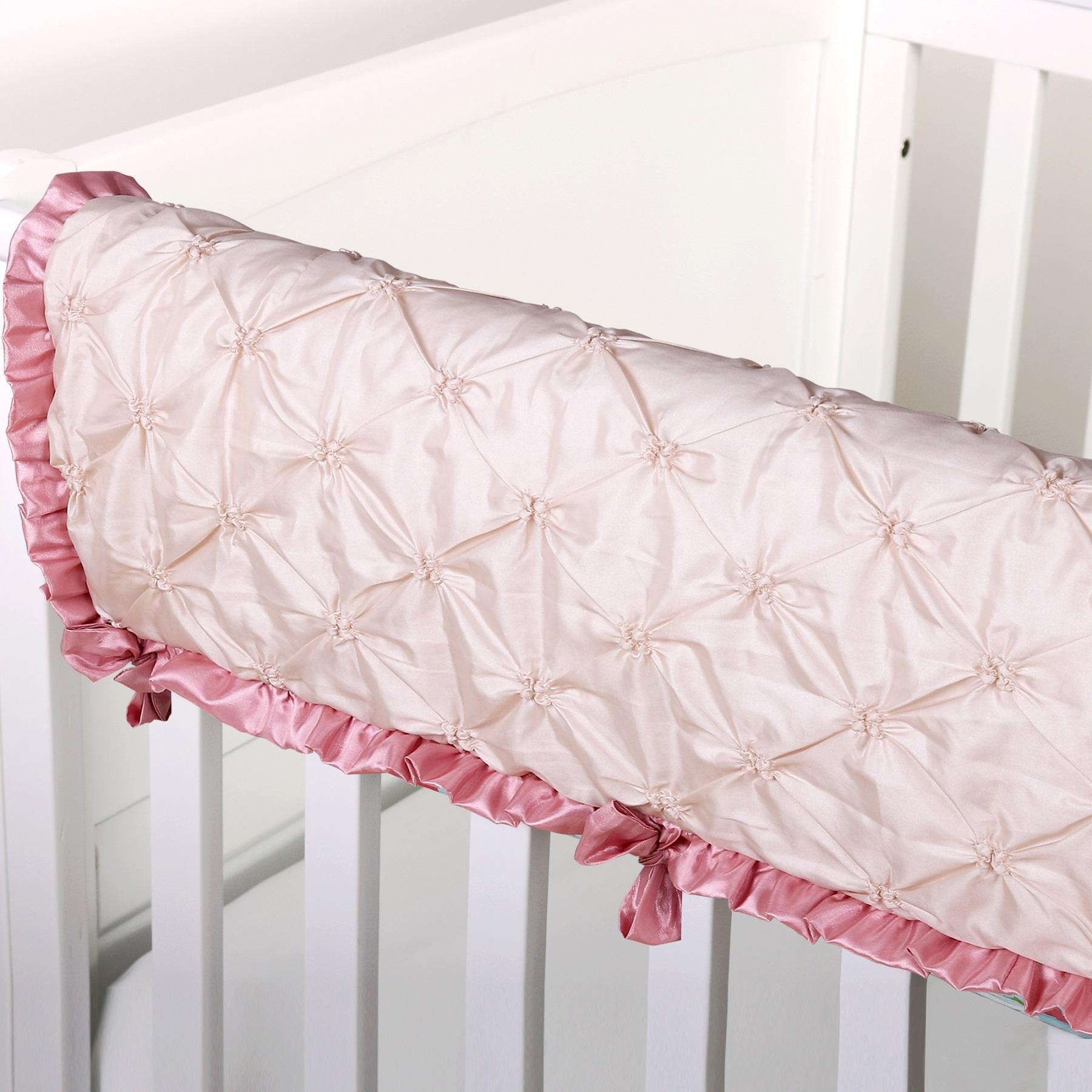 Baby cribs keep your baby close - This Crib Rail Guard Cover Will Protect Your Baby S Crib From Teeth Marks While Keeping Your Baby Safe Snug And Super Stylish