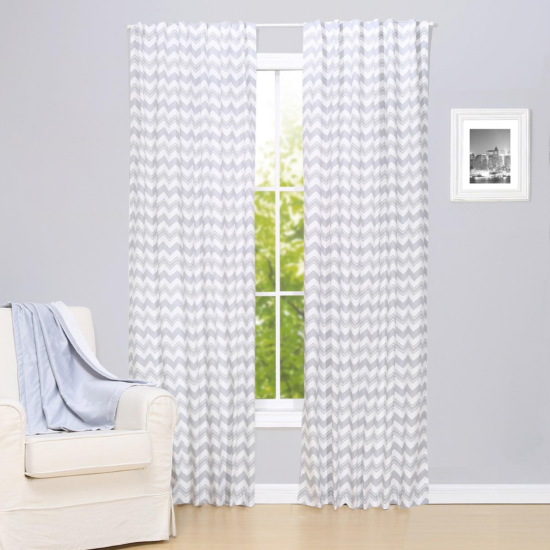 Blackout curtains chevron